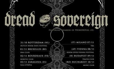 PROCESSION - DREAD SOVEREIGN - TOUR - 2014