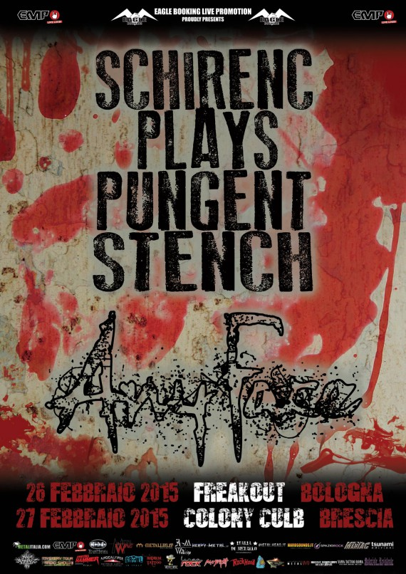 SCHIRENC PLAYS PUNGENT STENCH - promo - 2014
