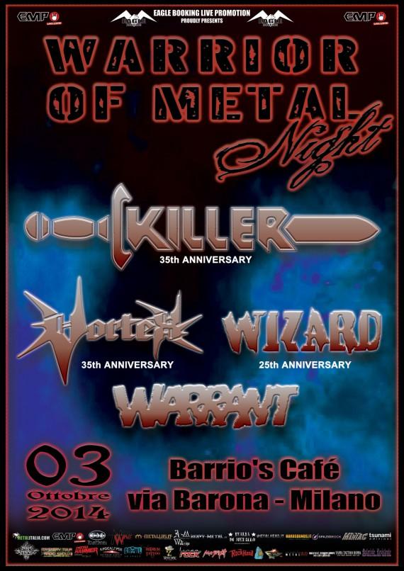 Warriors of Metal - milano - 2014