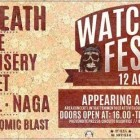 Napalm Death + Destrage + Church Of Misery + The Secret + Shores Of Null + Naga + Atomic Blast + Fall Of Darkness