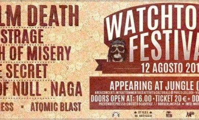 Watchtower Fest - Flyer - 2014