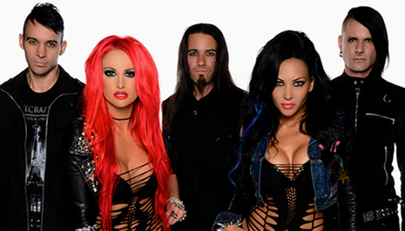 butcher babies - band - 2014