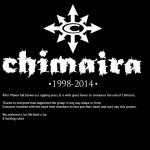 CHIMAIRA: annunciano lo scioglimento