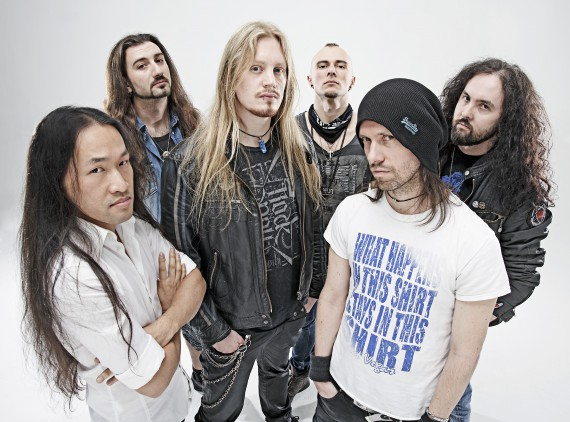 dragonforce - band - 2014