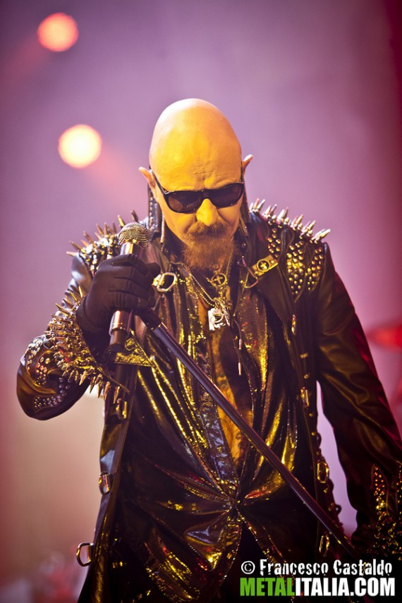 judas priest - rob halford live mantova - 2012