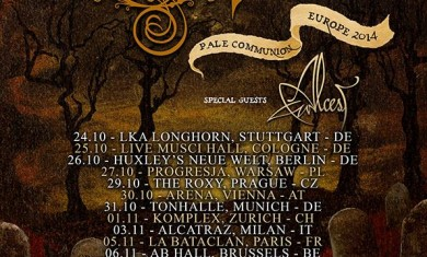 opeth alcest - tour - 2014