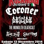 rock hard festival 2014 - annuncio deicide
