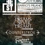 BITTERPILL MUSIC FEST: il 19 ottobre al Barrio's di Milano