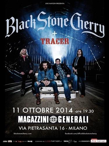 Black Stone Cherry - locandina - 2014