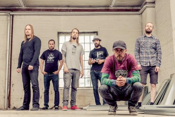 Ghost Brigade - band - 2014