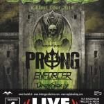 Overkill - locandina live club - 2014
