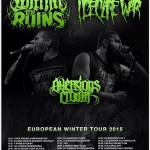 WITHIN THE RUINS, I DECLARE WAR, AVERSIONS CROWN: una data a Milano