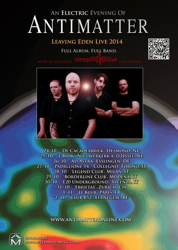 antimatter - leaving eden tour - 2014
