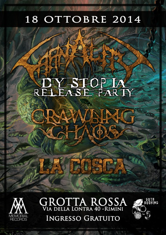 carnality - release show - 2014