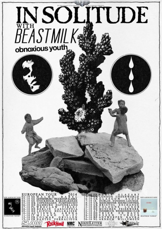 in solitude - beastmilk - tour - 2014