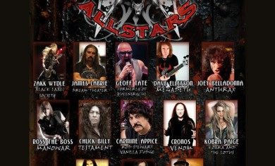 metal all stars - live club trezzo 2014
