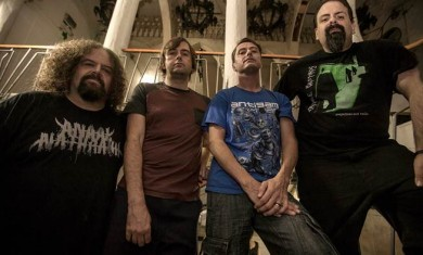 napalm death - band - 2014