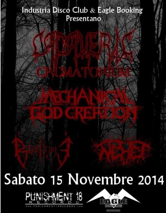 Death Metal Night 2014 brescia