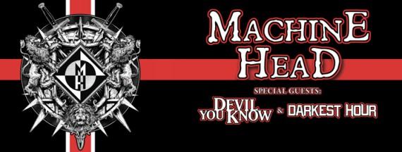 Machine Head - flyer - 2014