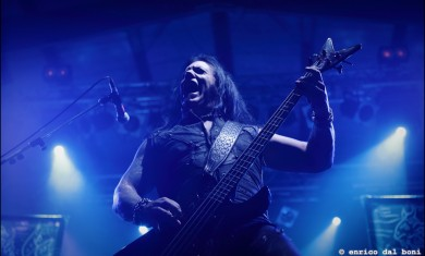 Morbid Angel - David Vincent live @ Estragon Bologna 2014