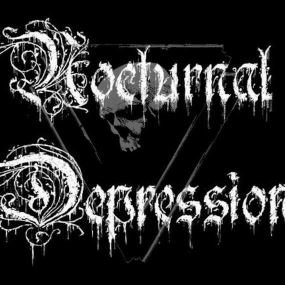 NOCTURNAL DEPRESSION - logo - 2014