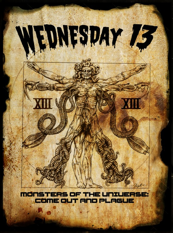 Wednesday 13 - Monsters Of The Universe Come Out & Plague - 2015