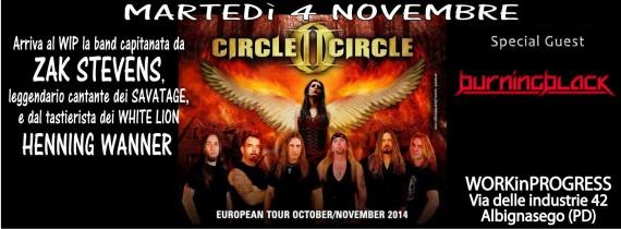 circle ii circle - padova - 2014