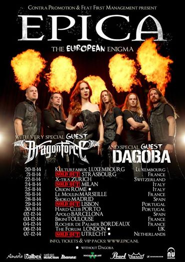 epica - milano sold out - 2014