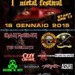 HADES METAL FESTIVAL: prima edizione il prossimo 18 gennaio