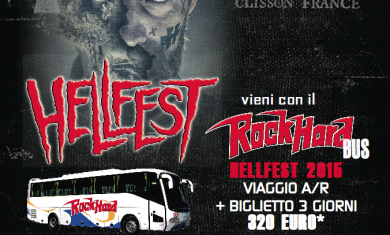 hellfest 2015 - bus rock hard italia