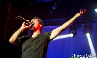 system of a down - tankian live milano - 2013