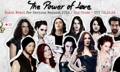 Dutch metal for serious request 2014 - The power of love - 2014