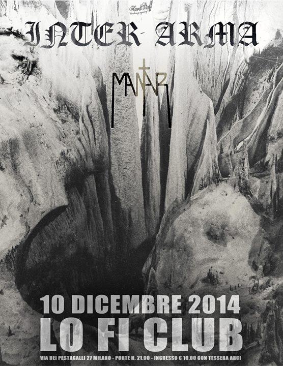 INTER ARMA - Lo-fi Milano - 2014
