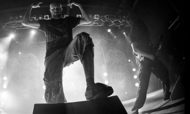 Meshuggah - Prima Pagina live - 2014