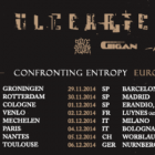 Ulcerate + Wormed + Solace Of Requiem + Gigan + Départe