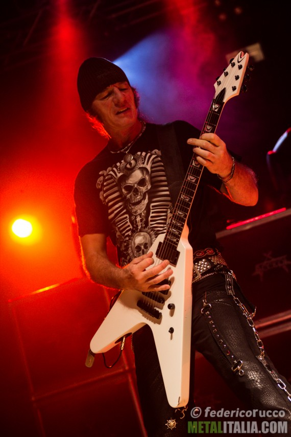 accept - herman frank live club trezzo - 2014