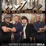 AC/DC: i dettagli della data di Imola
