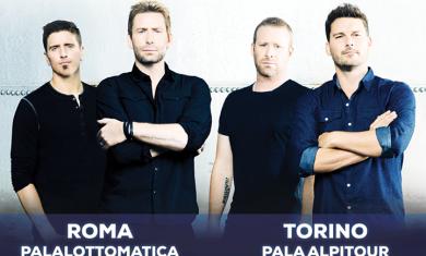 nickelback - roma e torino - 2015
