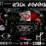 ROCK AGAINST SIAE FEST III ATTO: il 4 Gennaio al Colony di Brescia
