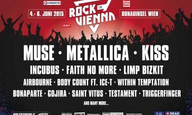 rock in vienna 2015 - secondo annuncio