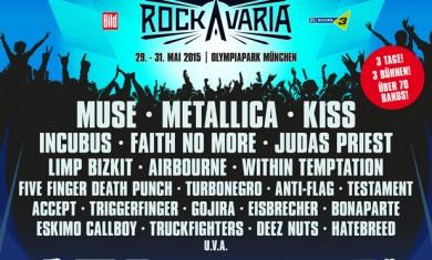 rockavaria 2 annuncio - 2015