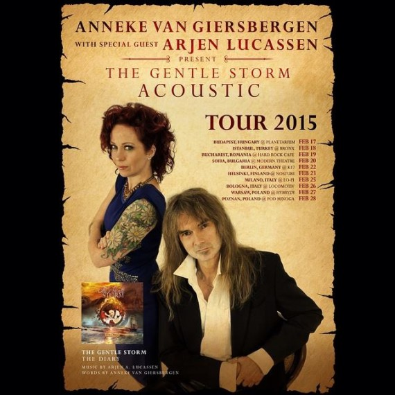 the gentle storm - tour 2015