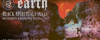 Earth + Black Spirituals + Don McGreevy & Rogier Smal Duo