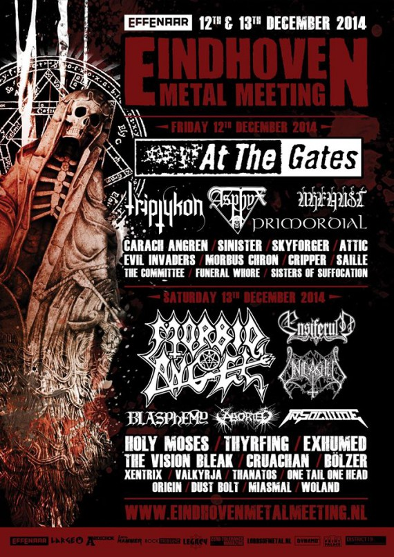 Eindhoven Metal Meeting - Flyer 2014 - 2015