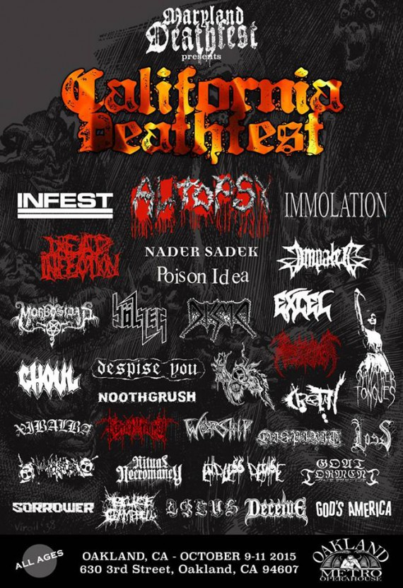 california deathfest 2015