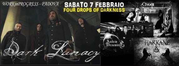dark lunacy - padova - 2015