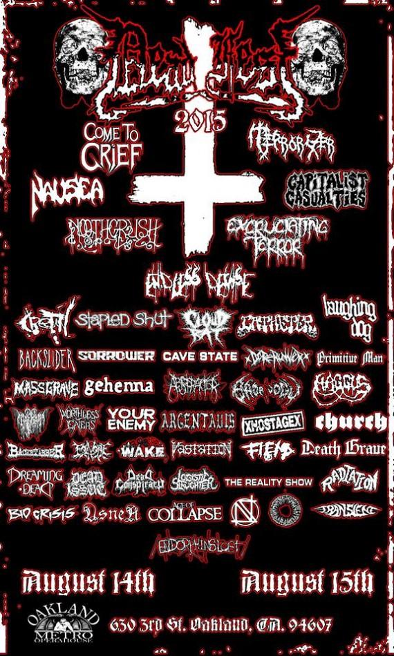 deadfest 2015 flyer