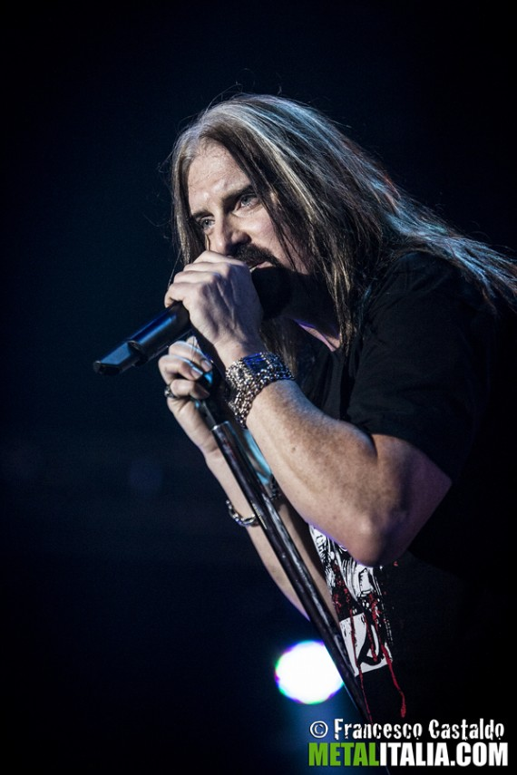 dream theater - james labrie live milano - 2014