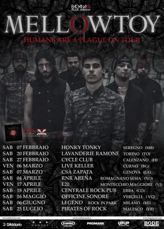 mellowtoy - tour locandina - 2015