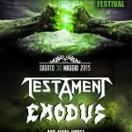 metalitalia festival 2015 - prima locandina